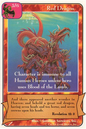 Red Dragon The Warriors Redemption CCG Card