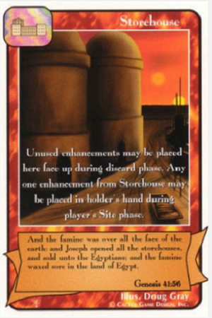 Storehouse The Patriarchs Redemption CCG Card
